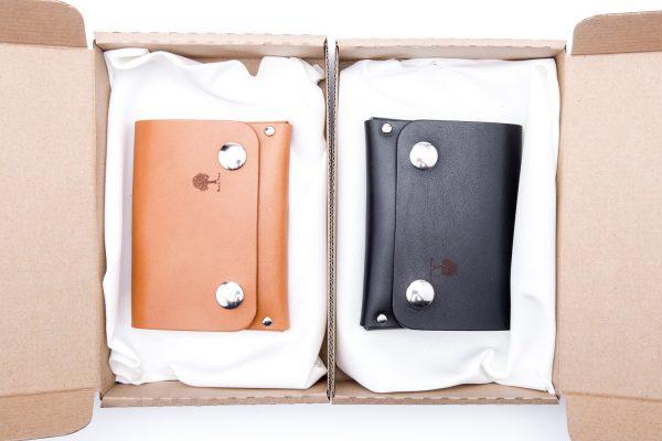 skórzany portfel, który pomieści dowód rejestracyjny