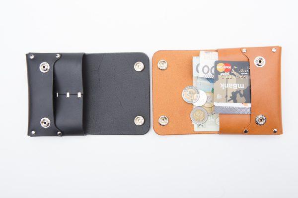 duży portfel skórzany wersja z napami