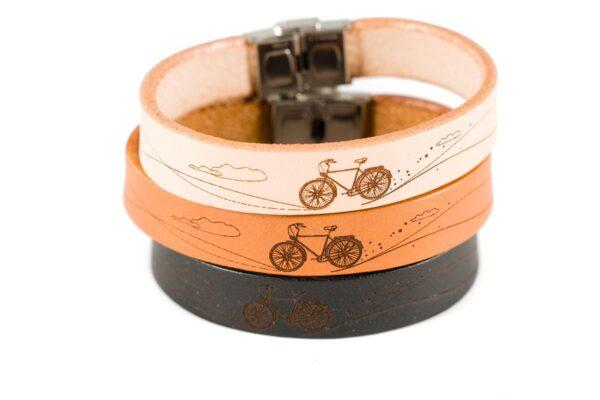bransoletka z motywem roweru